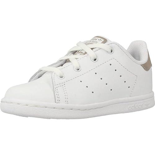 adidas Stan Smith I, Scarpe da Fitness Unisex-Bambini, Bianco Ftwbla 000,