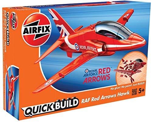 Airfix Quickbuild RAF Red Arrows Hawk Airplane Brick Building Model Kit