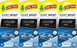 Little Trees Vent Wrap Air Freshener, New Car Scent, 4 Packs of 4