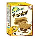 Kinnikinnick Foods Gluten Free S'moreables Graham Style Crackers, 220g, Pack of 6