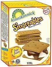 Kinnikinnick Foods Gluten Free S'moreables Graham Style Crackers, 220g, (Pack of 1)