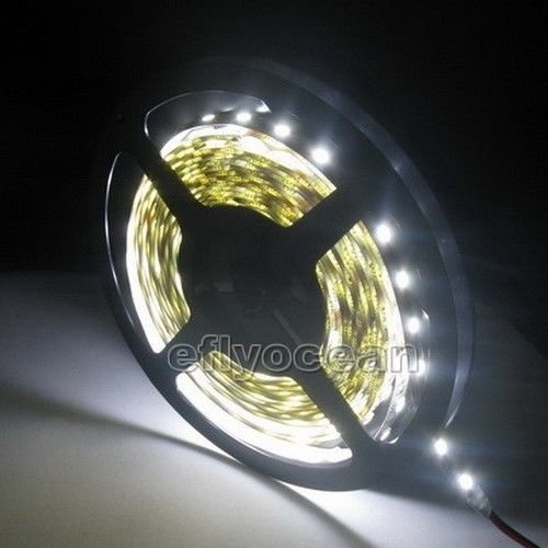16' Pot (5M 5050 SMD 300 LED Flexible Strip Light Decorate Car Auto 16FT 60leds/M white)