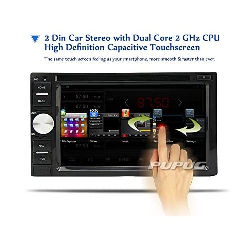 Eincar 2 DIN 7 '' pouces tactile LCD Screen voiture Radio