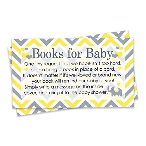Yellow Baby Shower Invitations - 3