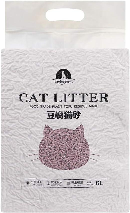 21sandwhick Tofu Arena para Gatos, 6 L, Biodegradable, de rápida ...