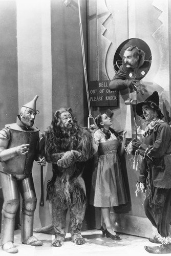 Ray Bolger, Judy Garland, Jack Haley and Bert Lahr in The Wizard of Oz 24x36 Poster from Silverscreen