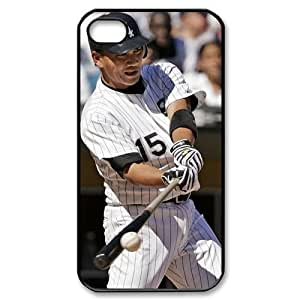 MLB iPhone 4,4S Black Chicago White Sox cell phone cases&Gift Holiday&Christmas Gifts NADL7B8825183