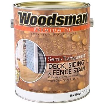 True Value Stov7 Gal Woodsman Cedar Hse Oil Deck And