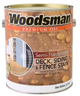 True Value STOVN-GAL Woodsman Neutral Base Semi-Transparent Oil Deck and Siding Stain, 124 Fl oz