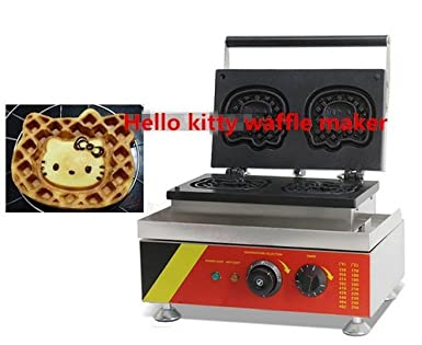 Comercial Hello Kitty Waffle Panificadora huevo Waffle ...