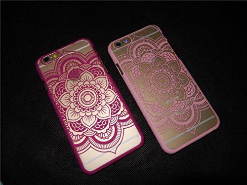 Funda iPhone 6 Plus/6S Plus,Alta Calidad Ultra Slim Anti-Rasguño y Resistente Huellas Dactilares Totalmente Protectora Caso de Plástico Cover Case Adecuado para iPhone 6 Plus/6S Plus,Patrón hueco F