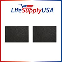 2 Pack Carbon Pre-Filter for Honeywell HRF-AP1 fits HPA09X & HPA10X Series by LifeSupplyUSA