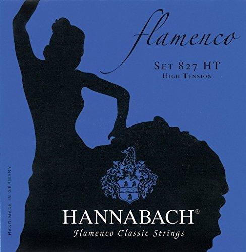 Hannabach 8273 HT Flamenco Classic (High Tension) g-3 - Hannabach Flamenco Guitar