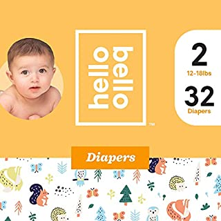 Hello Bello Diapers Jumbo Pack - Fuzzy Forest Friends (2)
