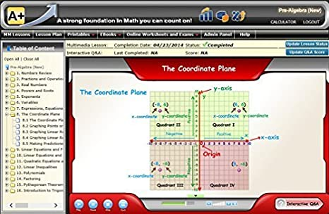 Amazon.com: 7th or 8th Gr (Pre-Algebra) Online Teaching (1 Student ...