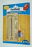 Greenbriar International Travel Football ~ Wood & Peg Game