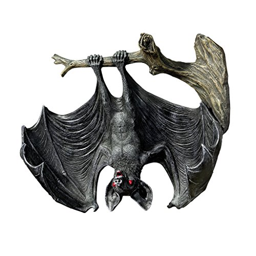Design Toscano Demon of The Night Vampire Statue Figure Halloween Bats -