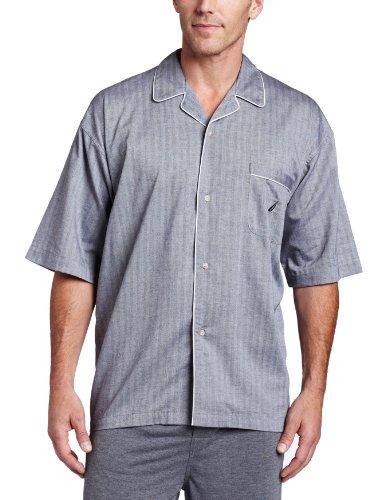 Stripe Woven Pajama Top - 5