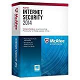 Office Products : McAfee Protects up to 3pcs Instant 2015 and 2016 When Released Upgrade Internet Security 2014 3 Pcs, Multicolor