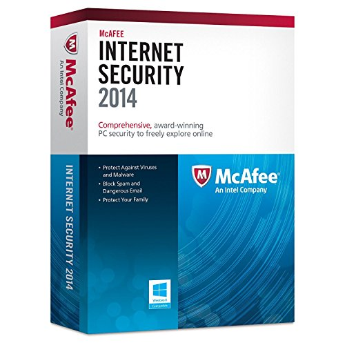 McAfee Protects up to 3pcs Instant 2015 and 2016 When Released Upgrade Internet Security 2014 3 Pcs, Multicolor
