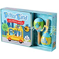Our Best Gift Box: Interactive Children's Songs Book & Toy Maracas for Babies. Baby Musical Book. Music Toys. Birthday Gifts for one Year Old. 1 Year Old boy Gifts. 1 Year Old Girl Gifts.
