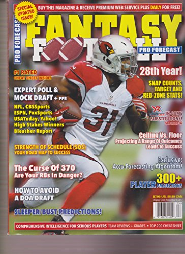 Pro Forecast Fantasy Football Magazine 2017
