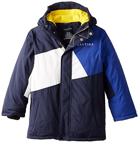 Boys' Navy Nautica Block Coat Color Snorkel Sport 1qpYdUn