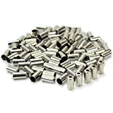 100Pcs Bike Bicycle Cycle Metal Brake Cable Wire Tips Caps Crimps 10x5x5mm