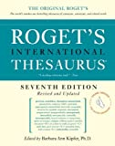 Roget's International Thesaurus, Barbara Ann Kipfer and Robert L. Chapman, 0061715239