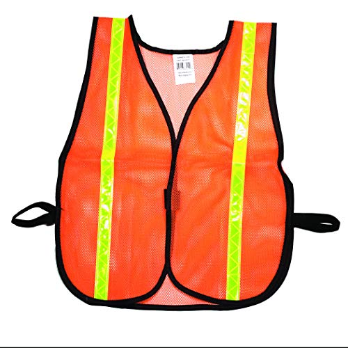 Poly Safety Mesh Vest - High Visibility Soft Poly Mesh Safety Vest