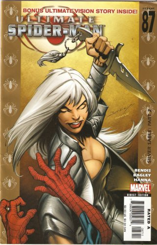 Ultimate Spider-man #87 (Silver Sable: Part 2) February 2006