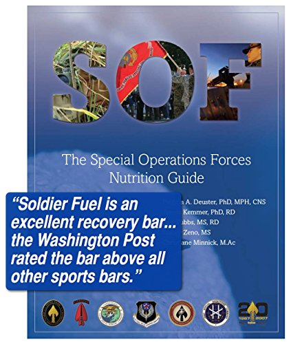 Soldier Fuel Energy Bars, Real Chocolate, 2.29 Ounce (Pack of 15)