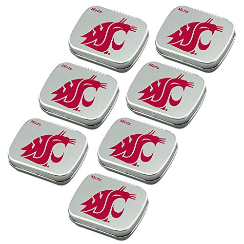 - Worthy Promo NCAA Washington State Cougars Party Favors Sugar-Free Peppermint Candy Mint Tins