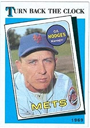 Amazoncom Gil Hodges Baseball Card 1989 Topps 664 Turn