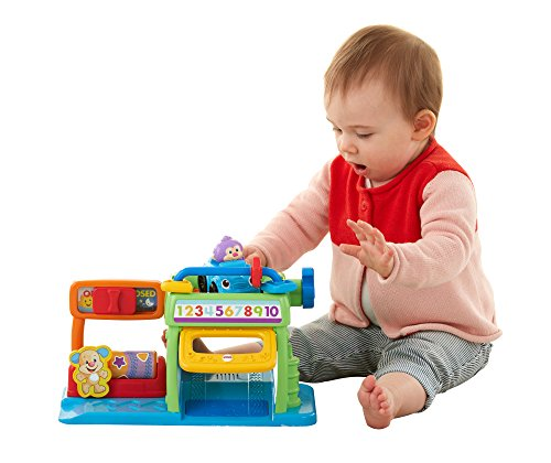 Fisher-Price Laugh & Learn Puppy's Numbers Garage -