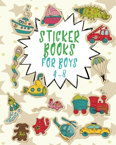 Sticker Book Blank Pages: Blank Sticker Book, 8 x 10, 64 Pages