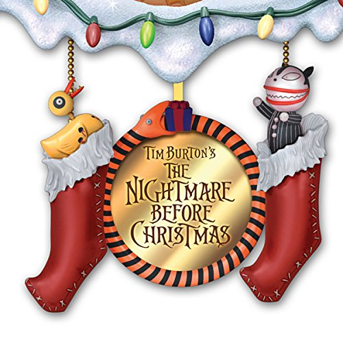 tim burtons the nightmare before christmas town cuckoo clock lights and music by the bradford