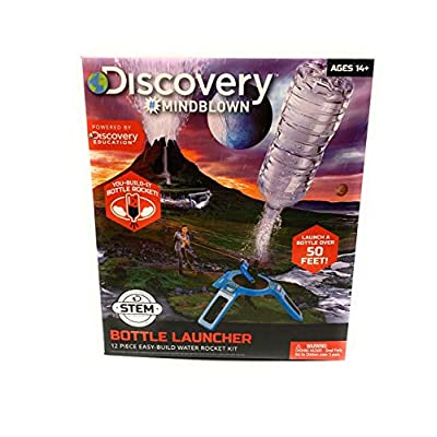 Discovery Mindblown Toy Bottle Launcher: Toys & Games
