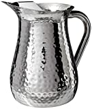 72 oz pitcher - Elegance Hammered 72-Ounce Stainless Steel Pitcher
