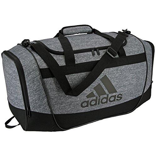 adidas Defender II Small Duffel Bag, Small, Jersey Onix/Black/Light Onix
