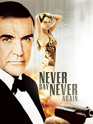 Never Say Never Again (James Bond Connery)