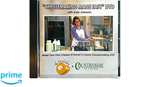 Amazon com: Cheesemaking Made Easy: Kate Johnson, Joe Baran: Movies & TV