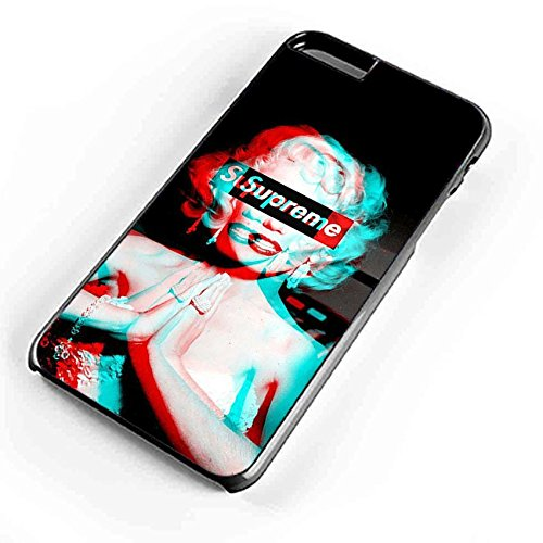 Price comparison product image Marilyn Monroe Supreme Blue Red 3d iPhone 6S Case Black