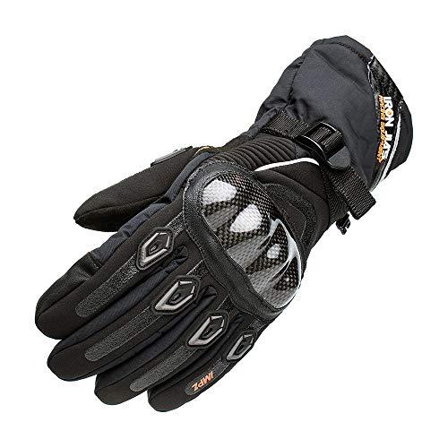 New Egg Motorradhandschuhe 100% Wasserdicht Winter Warm Motorrad Handschuhe Motorradhandschuhe Knuckle mit Touchscreen…