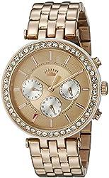 Juicy Couture Women's 1901324 Venice Analog Display Quartz Rose Gold Watch