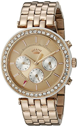 Juicy Couture Women's 1901324 Venice Analog Display Quartz Rose Gold Watch