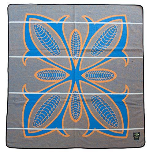 BASOTHO HERITAGE Wool African Blanket for Wearing (As seen in Black Panther) Morena Corncob (Mielie) (61