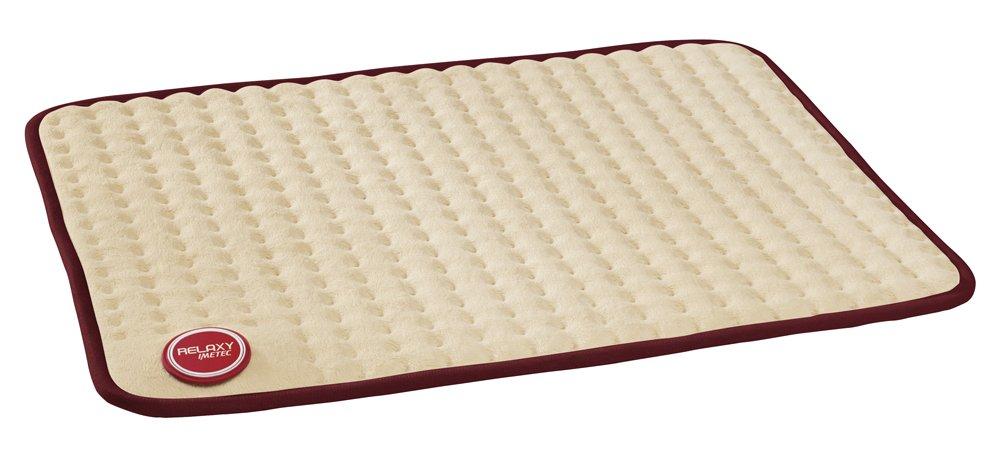 Imetec Relaxy IntelliSense HP-02 - Almohadilla térmica, 15 W, máximo 110 W, espalda, hombros, barriga y piernas, color beige y burdeos: Amazon.es: Salud y ...