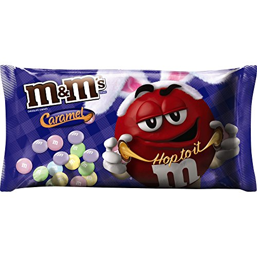 M&M's Easter Caramel Chocolate Candy, 10.2 Ounce (Pack of 12)