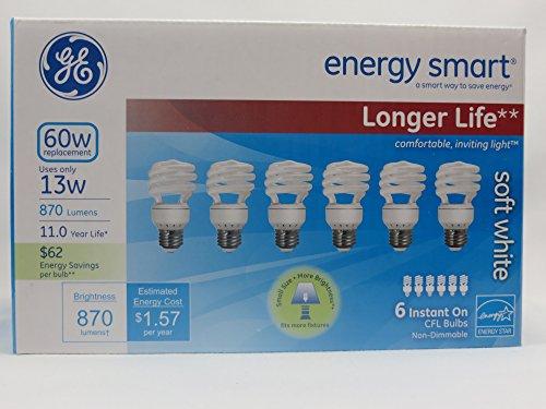 GE Lighting 13 watt 60 watt replacement